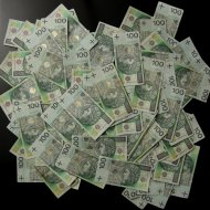 portret - pieniądze